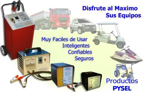 P Y S E L Cargador De Baterias Portatiles E Industriales